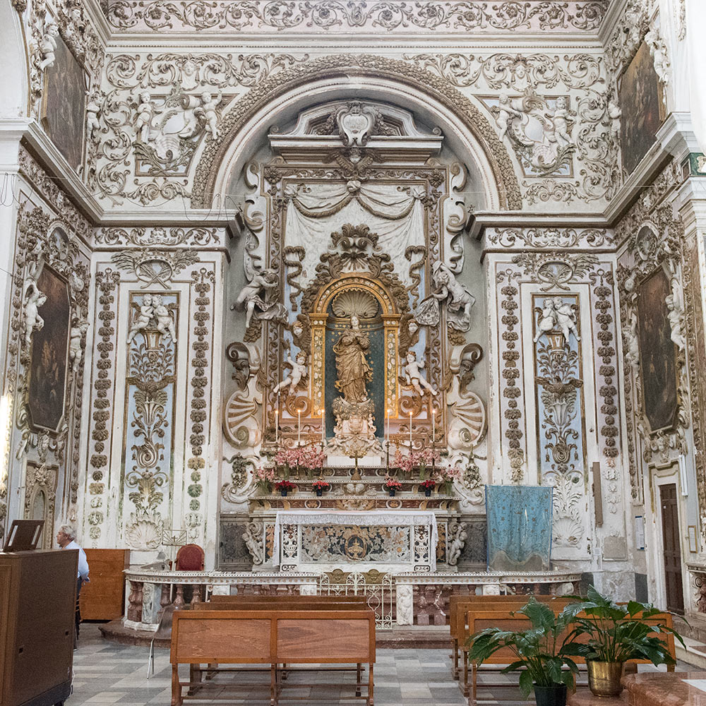 The High Altar of the Termini Imerese Cathedral.