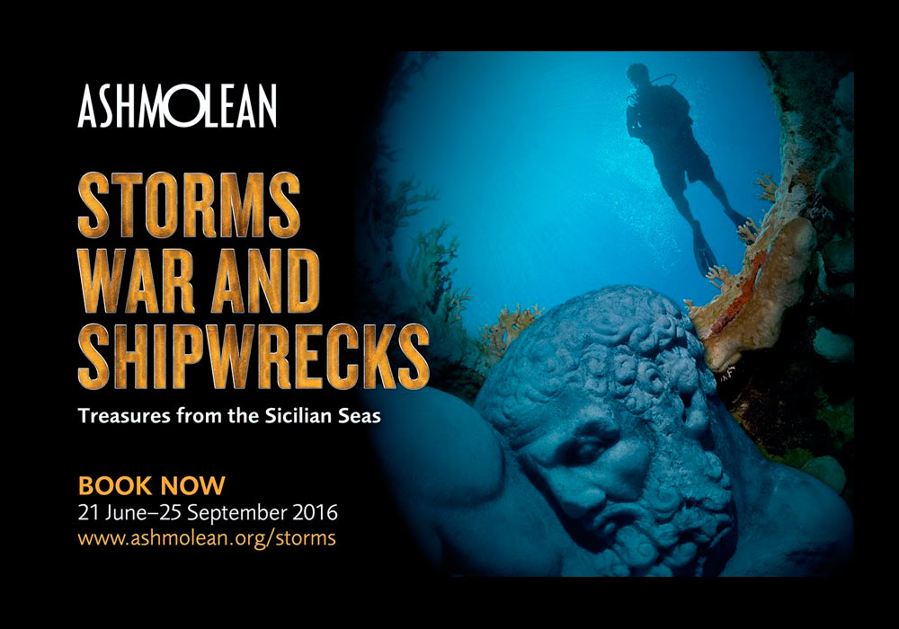 The Ashmolean Museum, Oxford: Storms, War & Shipwrecks Treasures from the Sicilian Seas
