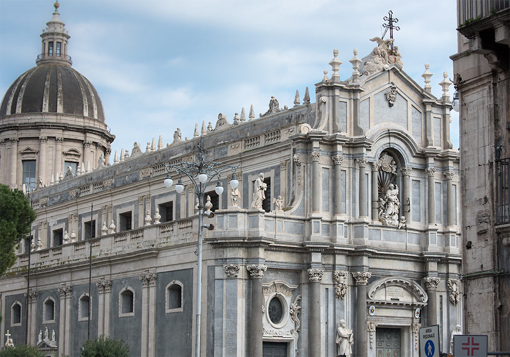 cathedral in Catania