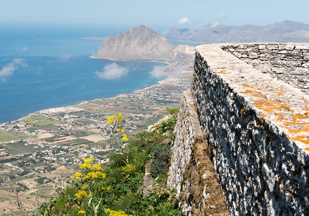 Erice, Mt San Guiliano, Mount Cofano