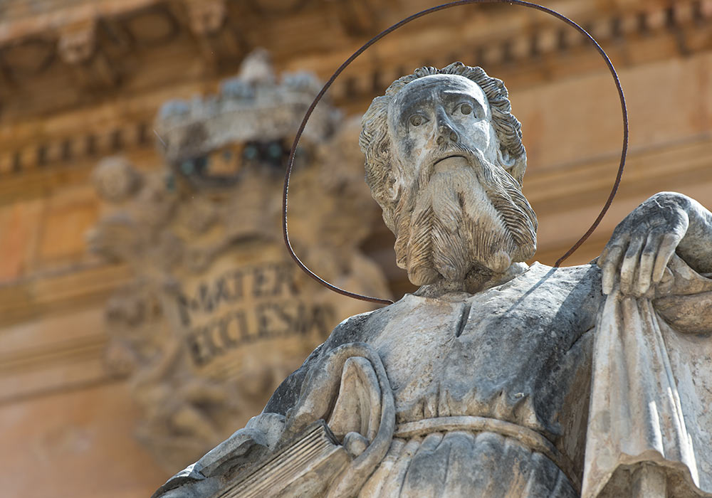 Statue of St Paul (San Paolo), Modica