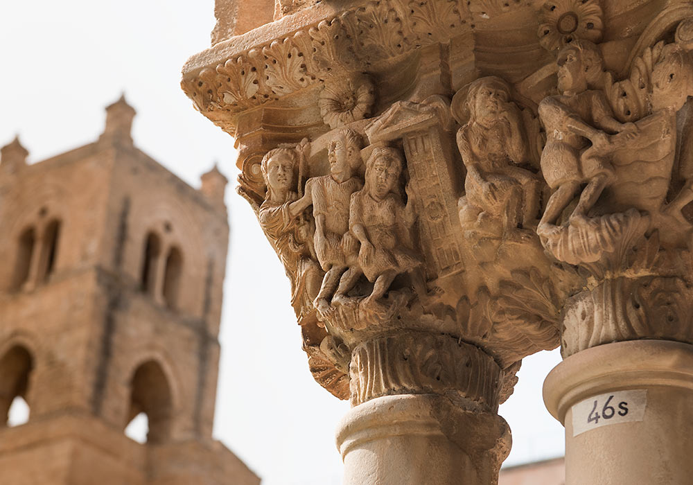 Monreale - the Benedictine Cloister