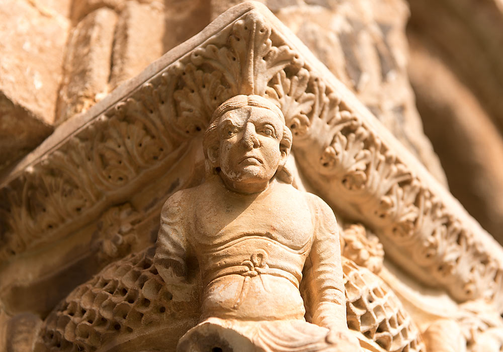 Capital, the Benedictine Cloister, Monreale, Sicily