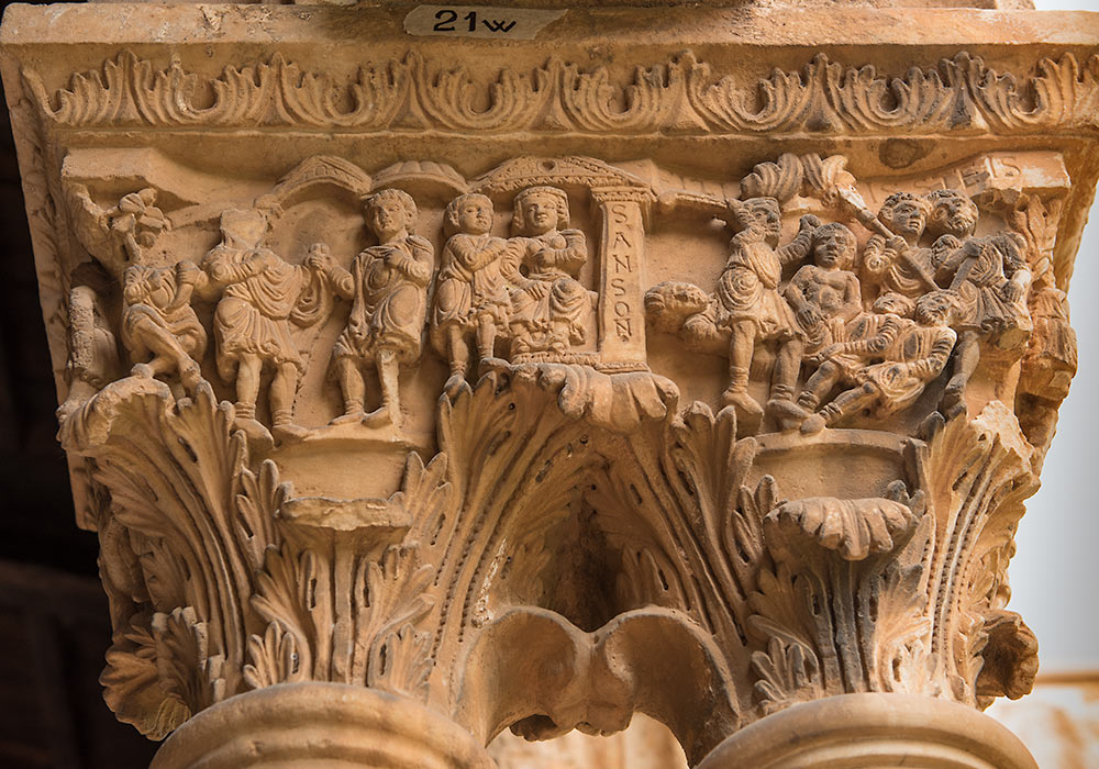 The Benedictine Cloister at Monreale: Samson story