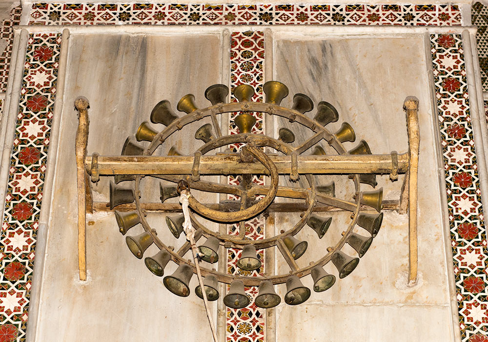 Bell wheel, Monreale cathedral, Sicily