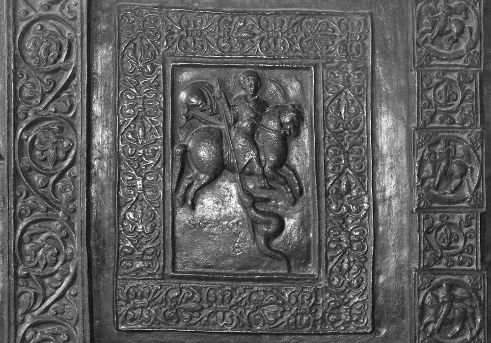 North Door by Barisano da Trani (c. 1179), Monreale Cathedral, Sicily