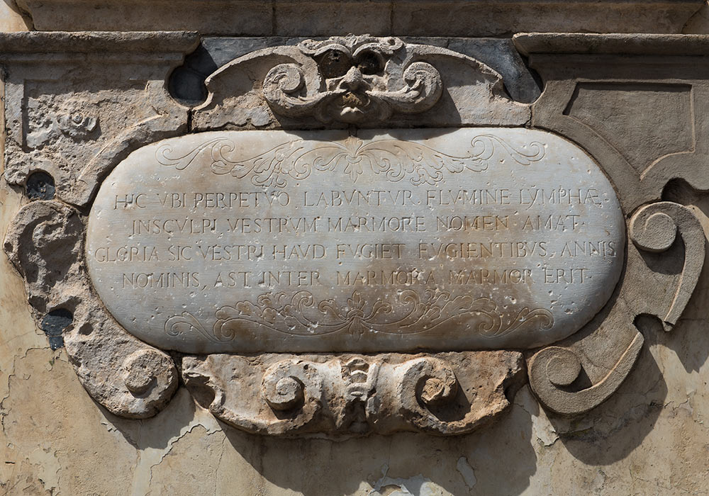 Latin inscription, Monreale