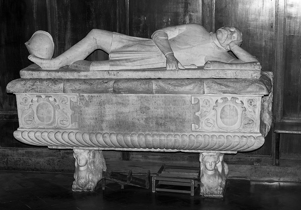 Sarcophagus for Francesco Perdicaro, La Magione, Palermo