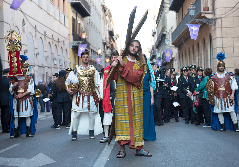 Easter procession, Palermo