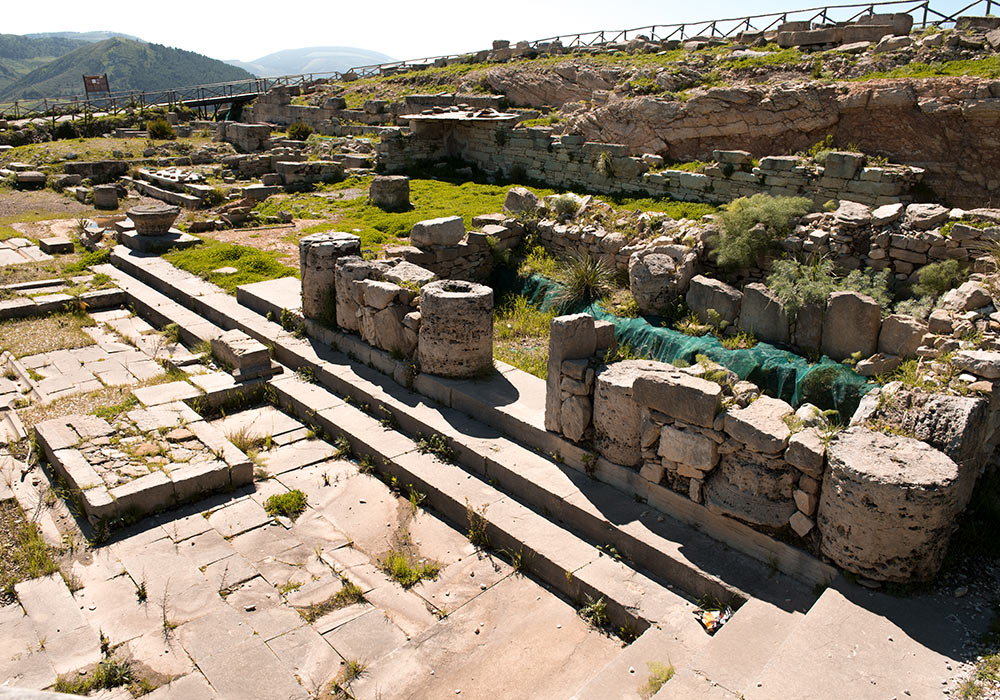 Agora of the Hellenistic city, Segesta