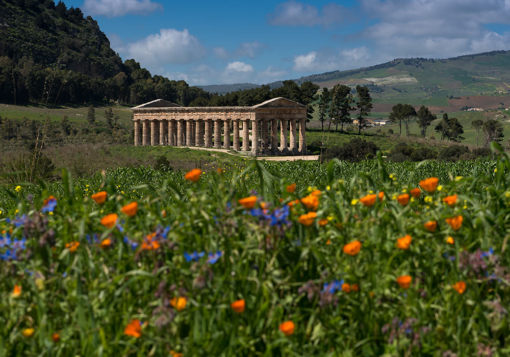 Segesta, Greek temple