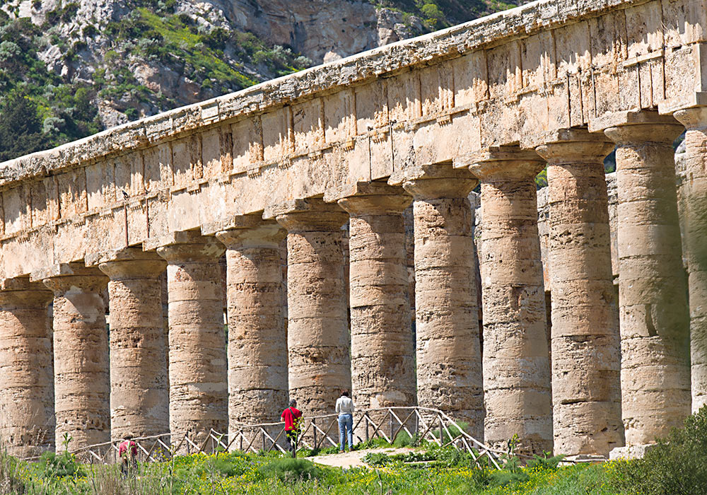 The ancient temple, Segesta
