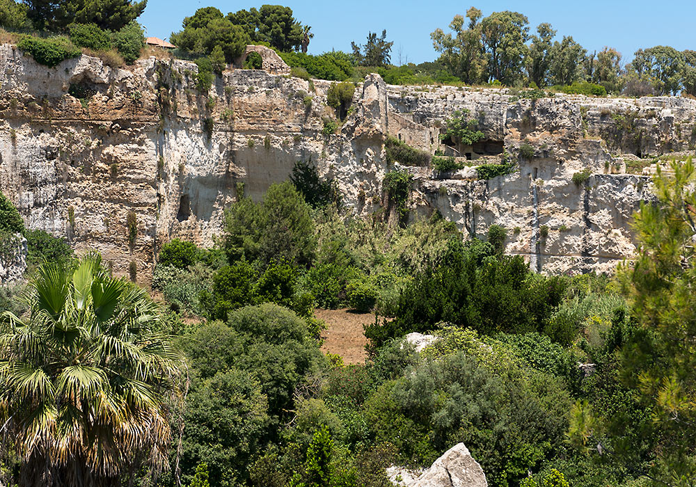 The Archeological Park in Syracuse (Siracusa) - Wonders of ...