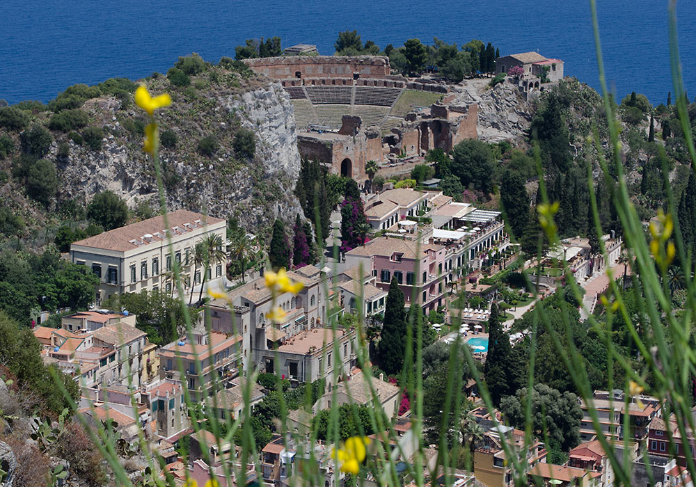 beautiful taormina wonders of sicily sicilia