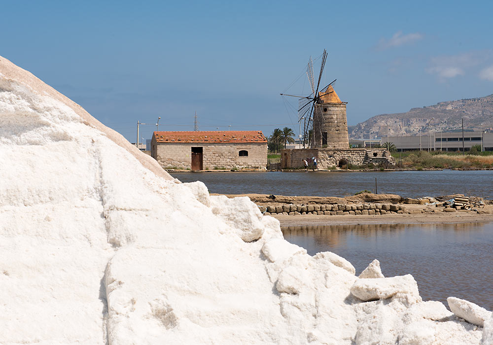 salt-pans of Trapani