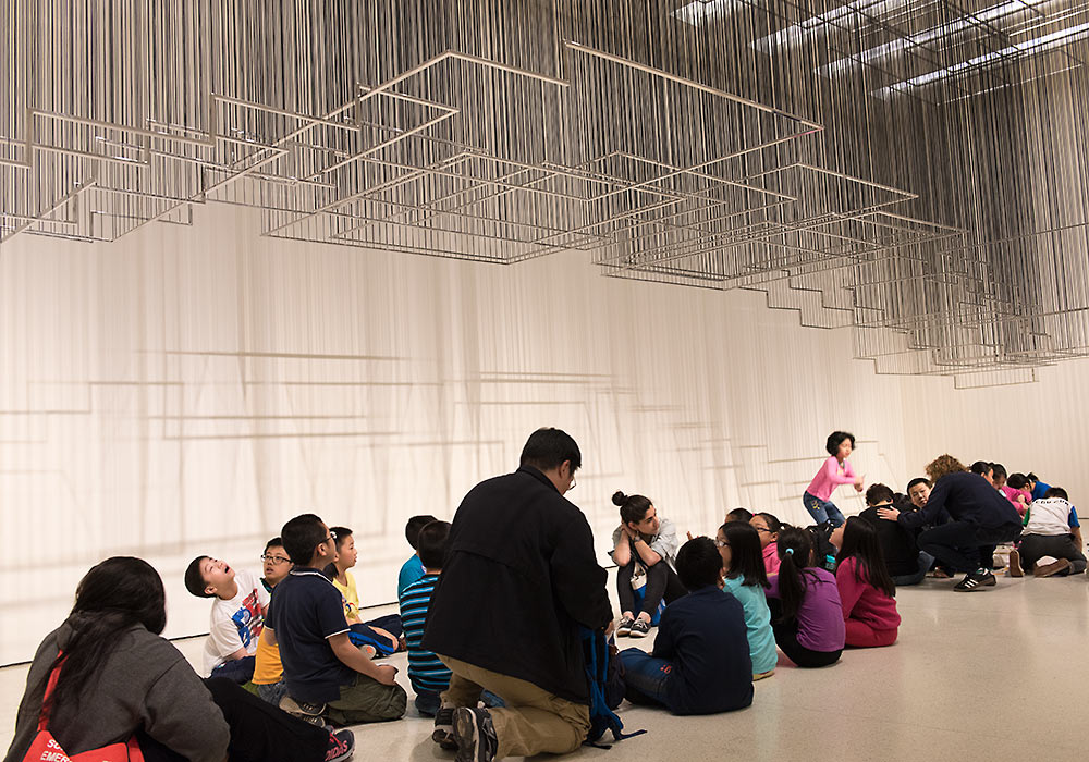 Flying Carpets (2011) by Nadia Kaabi-Linke, Solomon R. Guggenheim Museum