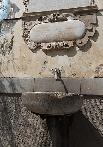 water source, Monreale