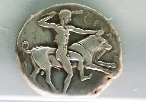coin from Selinunte